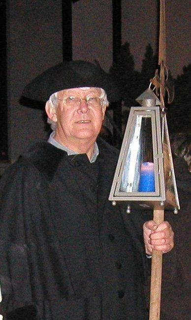 Nachtwächter in Margetshöchheim, Altbürgermeister Günter Stock
